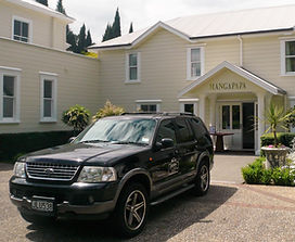 Luxury private transport around Napier and Hawkes Bay