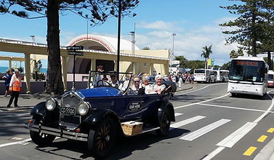 Cruise passengers doing the best tour in Napier