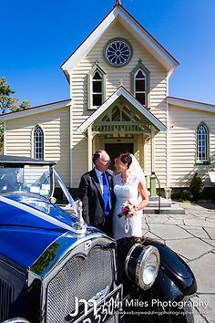 Vintage weddingat the Old Church Hastings