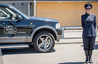 Exclusive SUV Airport transfer from Napier Hawkes Bay