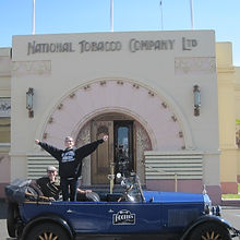 The famous National Tobacco Company in Napier is a must on any tour!