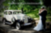 Stunning wedding car in Hawkes Bay