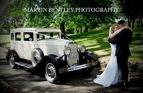 Stunning wedding car in Hawkes Bay