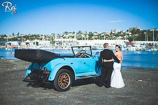 Special wedding car by Napier Marina