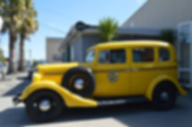 Classic Chevrolet Yellow taxi for hire in Napier NZ