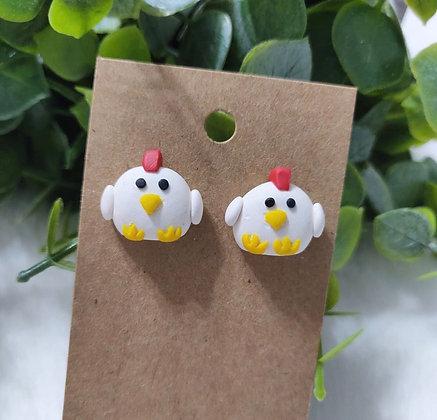 Chicken-Boo Studs