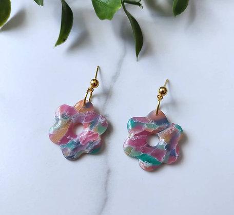 Flower Rainbow Stone