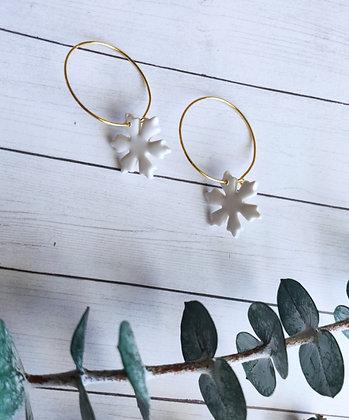 Snowflake Hoops
