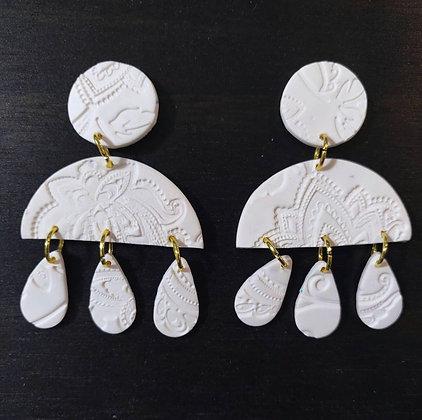 Cotton Paisley Teardrops