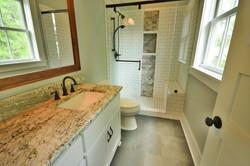 1107 Duke Street Master bathroom