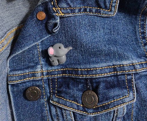 Emma the Elephant Pin