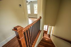 1107 Duke Street staircase and railing