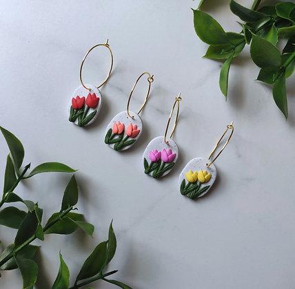 Tulip Hoops