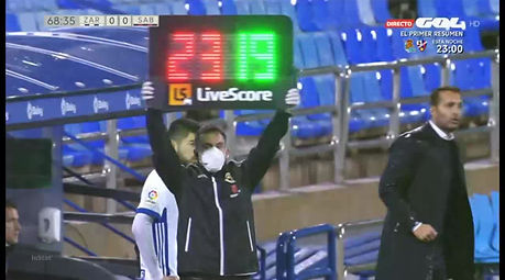 Giorgi Papunashvili against Sabadell FC / 25.10.20