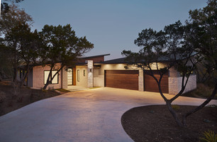 Texas Hill Country Meets Midcentury Modern Home Tour