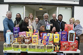 EASTER TREATS COME EARLY FOR THE FOODBANK