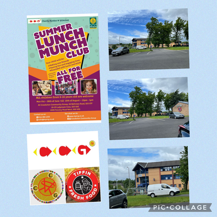 Police Station (Helen Street) are happy to helping out with hand out Summer Kids Club leaflets 😊🙌