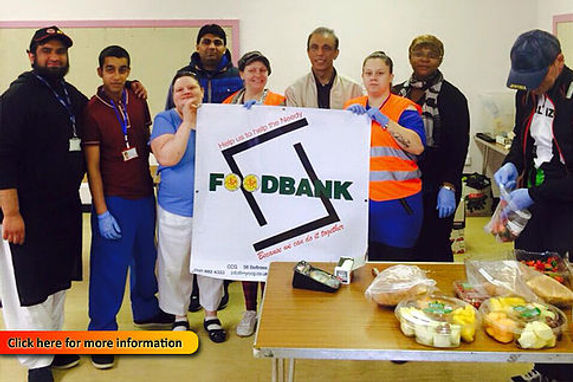 Crookston Community Group Food Bank Team