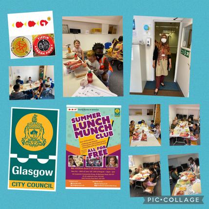 Beltrees Summer Kids Lunch Club! Happy Children!