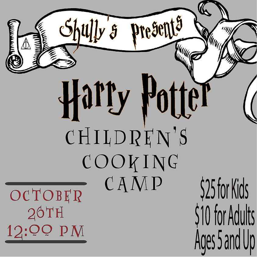 Harry Potter Kids Cooking Camp