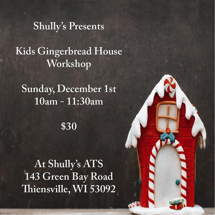 Kids Gingerbread House Workshop - SOLD OUT