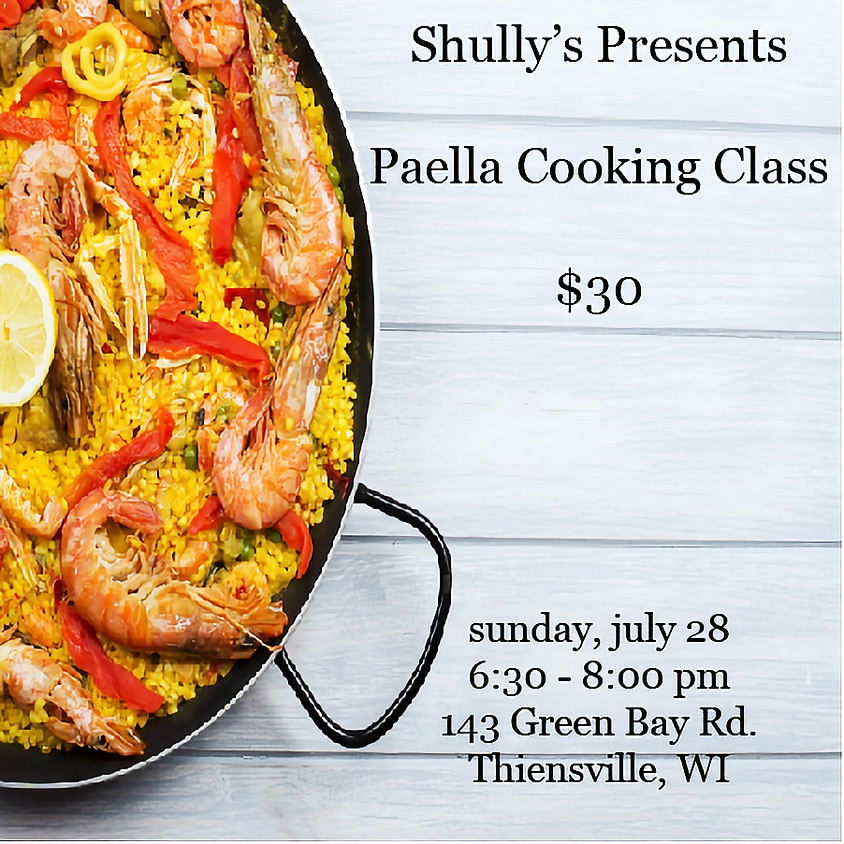 Spanish Paella Class-SOLD OUT!