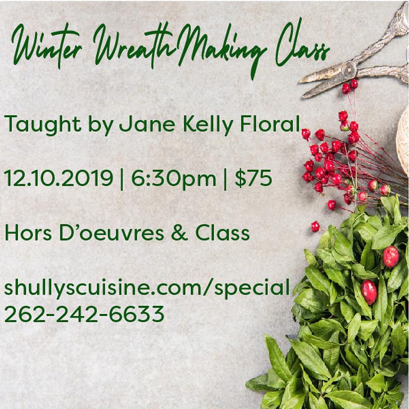 Winter Wreath Making Class