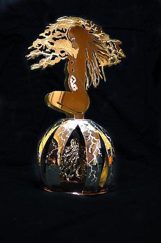 Chester Allen  Precious Metal Fine Art Sculpture
