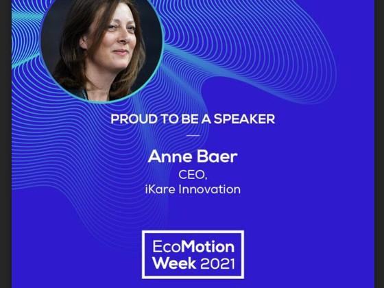 Anne Baer, speaker at EcoMotion Week 2021
