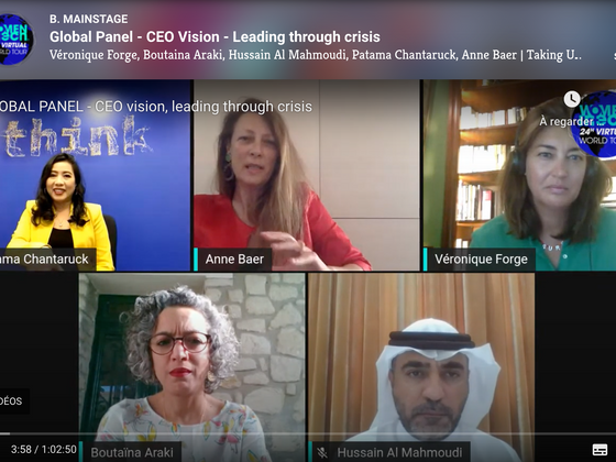 Video: Women in Tech – Global Panel - CEO vision, leading through crisis