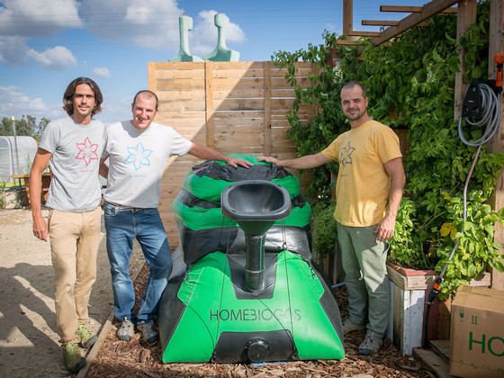 HomeBiogas shines with ENGIE at VivaTech 2018