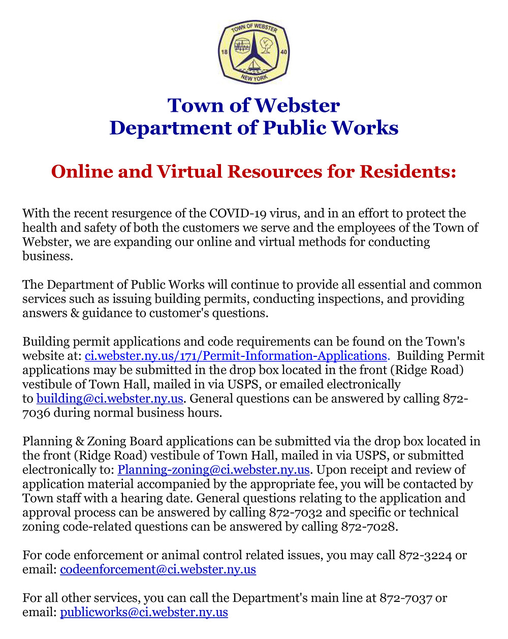 town-public-works-dept-offers-online-resources