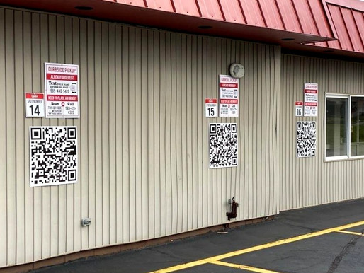 Charlie's Restaurant's QR codes streamline curbside service