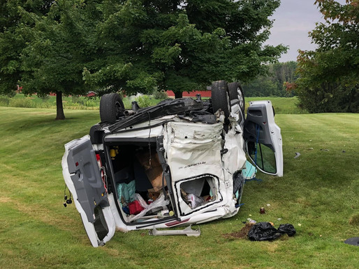 Webster's 'Honey Man' survives car crash