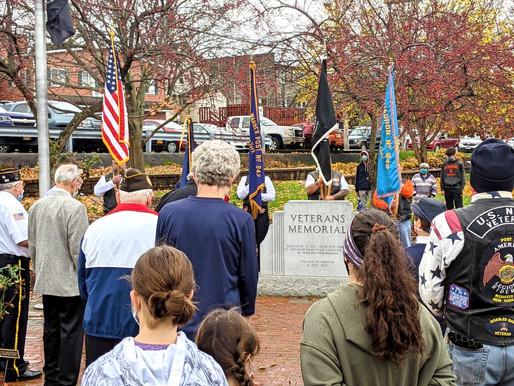 Webster celebrates Veterans Day 2020