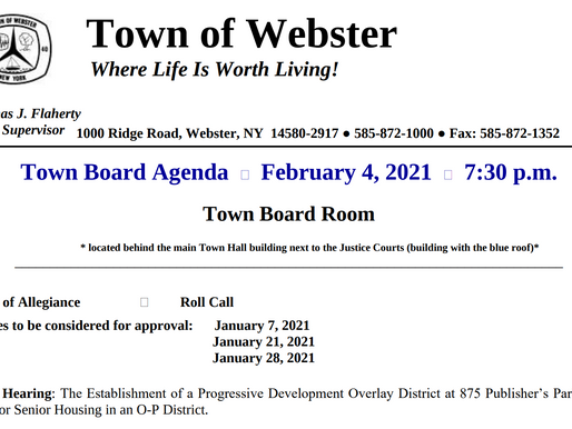 How to Find Webster Town Meeting Agendas and Minutes