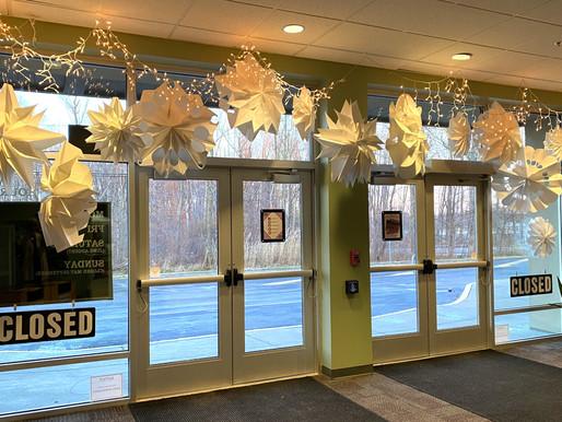 Webster Public Library decks the halls