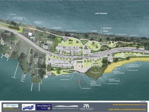 What's the Webster Sandbar Park Project?