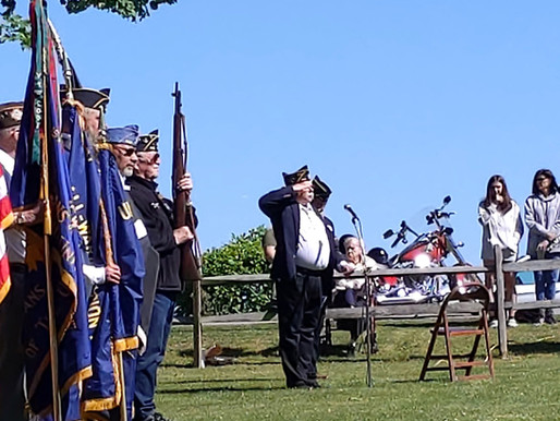 Webster celebrates Memorial Day at Webster Rural Cemetery