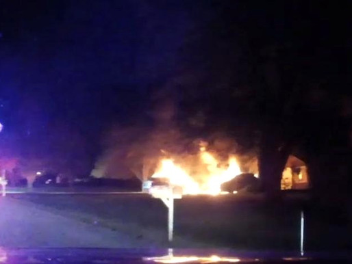 3 vehicles catch fire at Brooksboro Drive in Webster