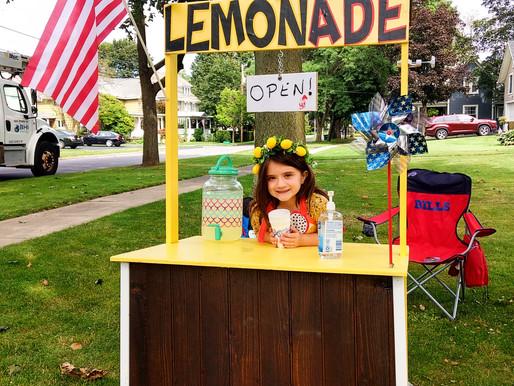 Village lemonade entrepreneur raised money for St. Jude