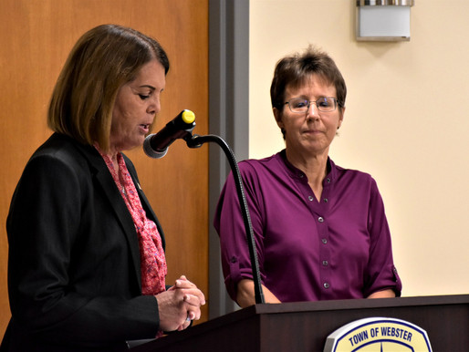 Town recognizes Missy Rosenberry for outstanding community service