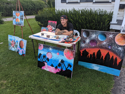 A visit with the 'North Ave. Artist'