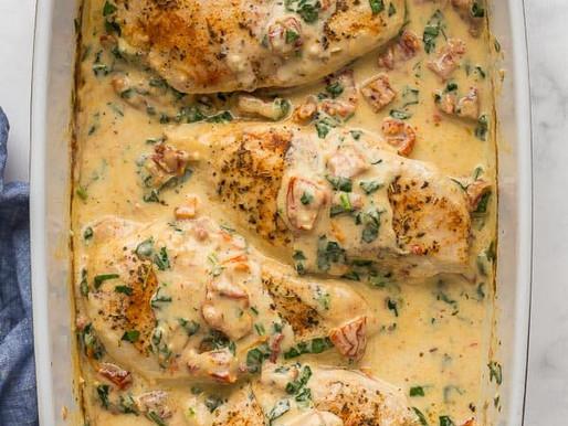 Webster Cook Nook: Baked Tuscan Chicken
