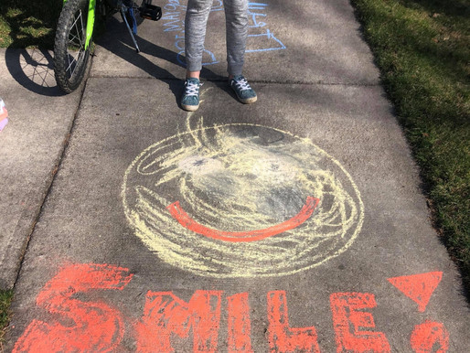 'Chalk'-Full of Happiness
