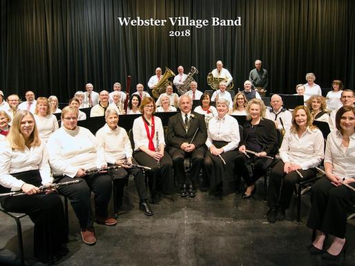 Webster Village Band is back!