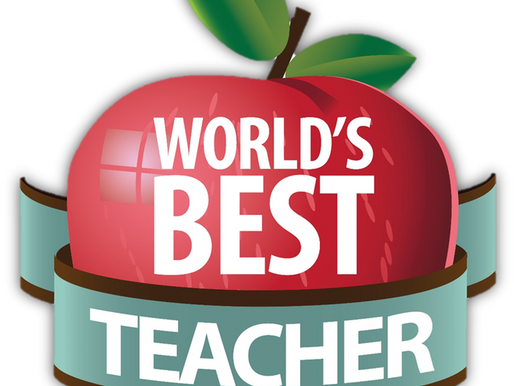 Tell me about your kids' best teachers, and I'll spread the word