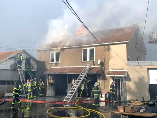 West Webster FD responds to heavy fire on Klem