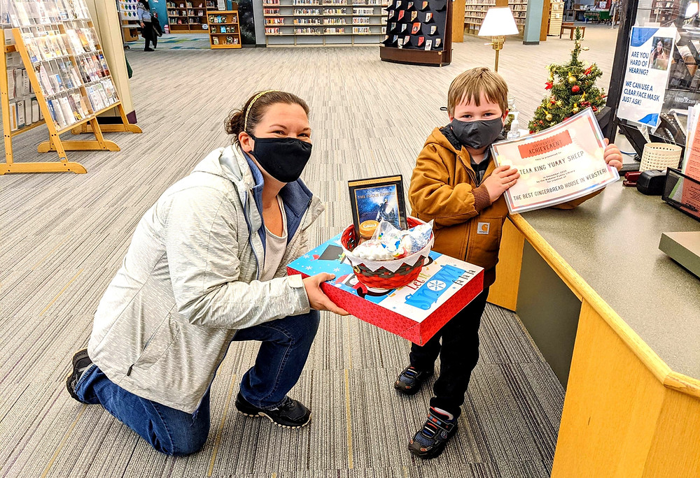 webster-public-library-holds-gingerbread-house-competition