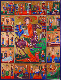 309 50X66 ST. GEORGE ANDSCENES FROM HIS